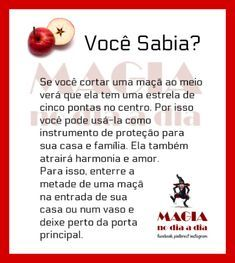 Magia no Dia a Dia: Maçã Wicca Witchcraft, Wiccan, Magick, Witch Spell, Pagan Witch, Reiki, Gypsy Witch, A Kind Of Magic, Baby Witch