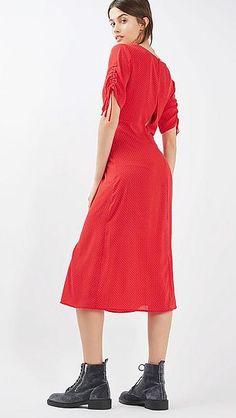 #dress #jurk #red #fashion #wehkamp #Topshop #fashionista