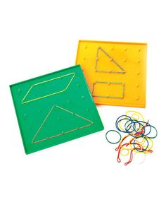 Take a look at this Thinking Kids' Math Geoboards Set by Carson-Dellosa Publishing Company on #zulily today!