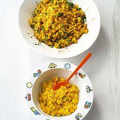 Graupen-Risotto mit Huhn Rezept   Küchengötter