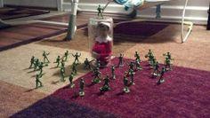 Elf on the shelf gets captured!