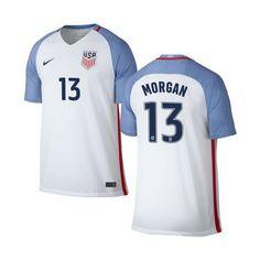 16b97193bfb19 Alex Morgan Home Youth Jersey 2016 USA Soccer Team Usa Soccer Team, Us  Soccer,