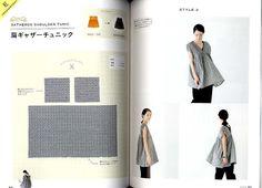 Libro in brossura: 79 pagine Editore: Saito (2014) Lingua: giapponese Libro di peso: 345 grammi 14 modelli di vestiti (Il libro non è dotati di carta del modello in scala piena; invece, si tratta con le misure, e sono tutte semplici). Contenuto: Un vestito quadrato B gonna arricciata C