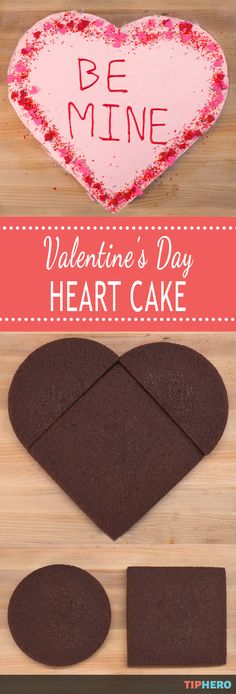 "Valentine's Day is almost upon us, and you know what that means: an excuse to enjoy delicious treats! We're not just talking about a boring box of drugstore chocolates, either. No, this Valentine's Day, we're whipping up a dessert that screams ""Made With Love"": a Heart shaped Cake! Click for the how to and wow your Valentine with this oh-so-sweet cake!"