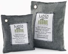 Two (2) Moso Natural Air Purifying Bags 1-200g and 1-500g (Charcoal) $28.99 (17% OFF)