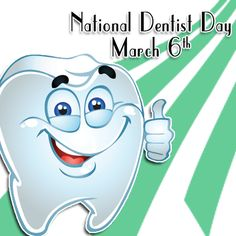This pin is all about National Dentist Day!