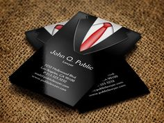 Business Man Business Card Design