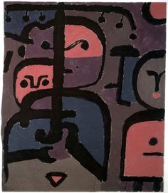 Tre giovani esotici | Paul Klee | Immagine Index of Art & Architecture