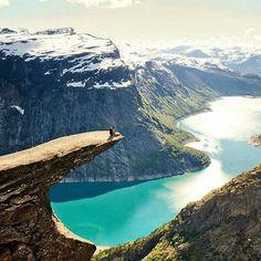 Living on the edge Trolltunga Norway | Photo by @voyage_provocateur  #Trolltunga #Norway #cliffedge #Europe #traveleurope #seeeurope #seenorway #travel #travelgram #travelgoals #travelpic #traveltheworld #livingontheedge #views #worldtravel #worldpics #instatravel #instapic #instagram #instavacation #picoftheday #wanderlust #wanderer #adventure #vacation #holiday #seetheworld #birdseyeview #ghooomotravel #Ghooomo by ghooomo