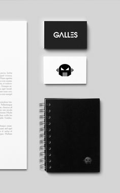 Galles Dj // Logo // Corporate ID. by Cristiano Vicedomini, via Behance
