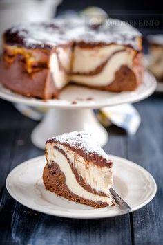 Sernik piernikowy Pastry Recipes, Baking Recipes, Cake Recipes, Dessert Recipes, Polish Desserts, Delicious Desserts, Yummy Food, Sweet Cakes, Chocolate Desserts