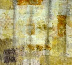 """sweetpeapath: """" Quiltfelt Landskin by India Flint Eco-dyed strips of fabric, layered, pieced, hand stitched, quilted and felted. Textile Dyeing, Textile Fiber Art, Textile Artists, Fibre Art, Surface Art, Surface Design, India Flint, Sustainable Textiles, Textiles Techniques"""