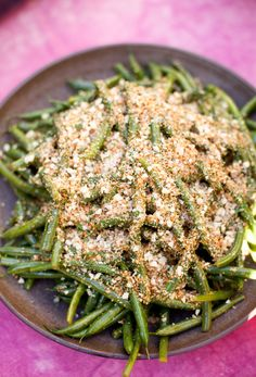 Recipe: Lemony Green Beans With Almond Breadcrumbs — Thanksgiving Recipes from The Kitchn
