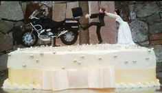 BMW GS Wedding Cake