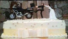 BMW GS Wedding Cake