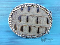Crocodile Skin Belt Buckle, Swarovski Crystal Buckle, Exotic Buckle, Crocodile Buckle, Rhinestone Buckle, Diva Buckle, tammydee
