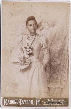 Bride To Be, 1880: Three quarter length formal portrait of young lady in bridal gown; lace veil in background. ca. 1880. Randolph L. Simpson African-American collection. Beinecke Rare Book and Manuscript Library, Yale University.    Vintage African American photography courtesy of Black History Album, The Way We Were.