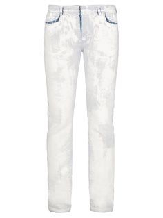 Plaster cast-effect skinny jeans | Maison Margiela