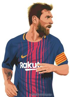 Lionel Messi of Barcelona wallpaper. Cr7 Messi, Messi 10, Football Player Drawing, Soccer Players, Best Football Team, Football Art, Messi Poster, Lionel Messi Barcelona, Barcelona Football