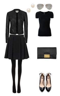French-Wardrobe-Parisian-Fashion-Outfit-Two This is SO MY STYLE!!!! Why am I living up North again sis??? LOL