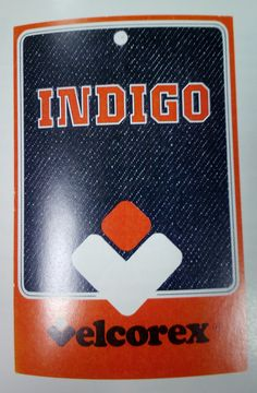 Etiquette Velcorex - Collection Indigo