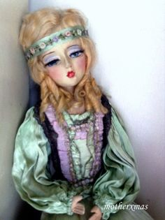 "Beautiful 30"" Etta Boudoir Doll"