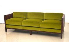 classic design - Custom Woven leather sofa