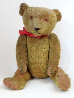 c. 1920s / 30s teddy bear