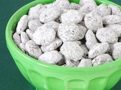 CHEX MIS PUPPY CHOW: 9 cup Chex 1 cup chocolate chips 1/2 cup peanut butter 1/4 cup butter 1/4 teaspoon vanilla 1 1/2 cup powdered sugar Put cereal in large bowl. Melt chocolate chips, peanut butter, and butter. Remove from heat and stir in vanilla. Pour over Chex cereal, put into a large plastic bag with powdered sugar and shake well to coat. Spread mixture evenly on wax paper and allow to cool.