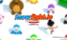 Snowfight.io Game  Cold weather, these days we feel the most meaningful game of snow ball war. http://www.spicandspangames.com/snowfight-io #snowfight #snowfightgame #snowfightio #fightinggames #spicandpangames #adventure