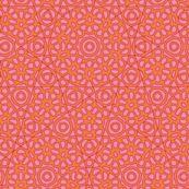 Spring Floral in blush by weavingmajor, Spoonflower digitally printed wallpaper