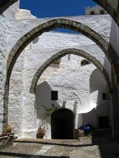 Monastery, Chora, Patmos Island Greece Art & Architecture
