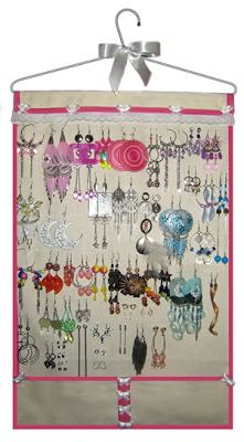 Artesanato Fofo: Porta-brincos de tecido