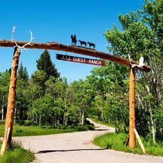 Triple J Ranch in Montana. Dude ranch. Love them cowboys!