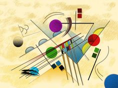 Vormen & Line - Expressionisme Expressionist approach – derived from Wassily Kandinsky