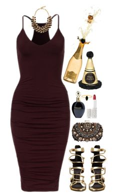 """""""New Years Eve"""" by kitkat12287 ❤ liked on Polyvore featuring Giuseppe Zanotti, Etro, Lipsy, Roberto Cavalli, Elizabeth Arden and Bing Bang"""