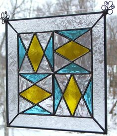 Blocked quilt