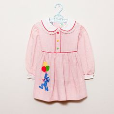 the cutest sesame street vintage dress. with grover! from the littlest shop. Vintage Baby Dresses, Vintage Baby Clothes, Sesame Street Party, Sesame Street Birthday, Vintage Kids Fashion, Vintage Children, 2nd Birthday, Birthday Ideas, Princesses