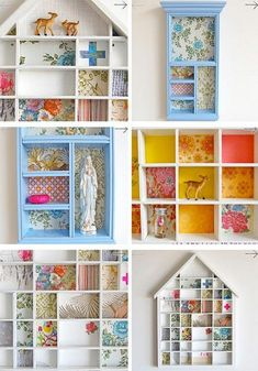 beautiful shadow boxes @ Do It Yourself Pins