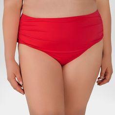 222dcd2fb04 Women s Plus Size High Waist Swim Bottom - Beach by Melissa Odabash   Target  Scrunch Bikini