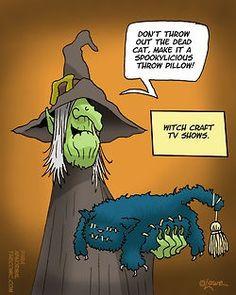 humor for halloween Halloween Cartoons, Halloween Art, Happy Halloween, Halloween Humor, Laugh Cartoon, Lol Dolls, Funny Cute, Fall Funny, Hilarious