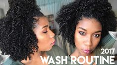 My simple natural hair wash day routine! This is the most moisturized, soft, and healthy my natural hair has ever...