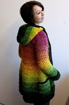 Pretty Crochet Sweater ~ Sweet Inspiration!
