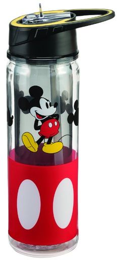 Disney Mickey Mouse 18 Oz Tritan Water Bottle *** Find out more about the great product at the image link. (This is an affiliate link) Cozinha Do Mickey Mouse, Mickey Mouse Kitchen, Disney Kitchen, Disney Mickey Mouse, Mickey Minnie Mouse, Disney Nerd, Disney Fanatic, Disney Parks, Mickey Mouse Water Bottle