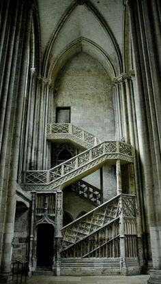 Gothic staircase ..rh