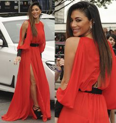 "Nicole Scherzinger arriving at Wembley Arena for the ""X Factor"" in London on July 9, 2016"