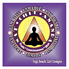 Sat Chit Ananda is a sanskrit term for the nature of the core of our being or self. It is  the formula that reflects our advancement along a spiritual path. Sat means existence...Chit means consciousness and Ananda means bliss....all beautiful spiritual principles to choose to embrace on a spiritual journey!  Peace...joy and love to you all! See this original design on tees, tanks and hoodies at yogibeacjgirl.com #yoga #yogi #yogainspiration #yogagirl #yogaeverydamnday #yogalifestyle…
