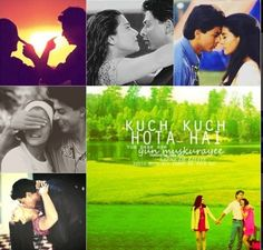 Shahrukh, Rani and Kajol - the eternal love triangle - in Kuch Kuch Hota Hai (1998)