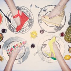 これが靴!?今季のRANDA「フルーツ柄」が美味しそう♡   4meee!  http://4meee.com/articles/view/568028