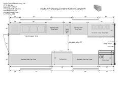 food truck kitchen layout에 대한 이미지 검색결과